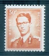 BELGIE Boudewijn Bril * Nr 1074 P3a * Postfris Xx * FLUOR  PAPIER - 1953-1972 Lunettes