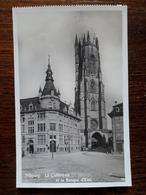 L17/250 Suisse. Fribourg. La Cathédrale Et La Banque D'Etat - FR Fribourg