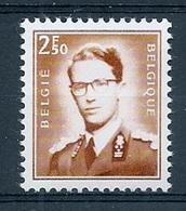 BELGIE Boudewijn Bril * Nr 1574 * Postfris Xx * FLUOR  PAPIER - 1953-1972 Lunettes