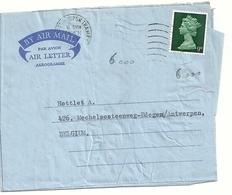 AEROGRAMMA  1969 - Interi Postali