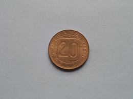 1980 - 20 ( Zwanzig Schilling ) KM 2946.1 ( For Grade, Please See Photo ) ! - Autriche