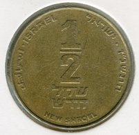 Israel 1/2 New Sheqel 5757 1997 KM 159 - Israel