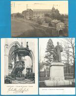 (G139) LEUVEN - LOUVAIN - Statue Père Damien - Abbaye Keizerberg - Chaire De L'église St Jacques - Leuven