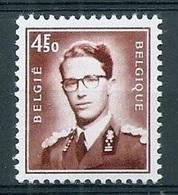 BELGIE Boudewijn Bril * Nr 1651 * Postfris Xx * FLUOR  PAPIER - 1953-1972 Lunettes