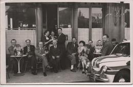 B73 Photo PUB ST.RAPHAEL  Groupe De Personnes-voiture RALLY ,,?? Non Situé - Alcools