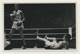 Sammelbild Vignette Olympia 1936 Boxen Larrazabal Wilson USA - Boxsport