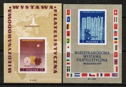 POLAND   Scott # B 104-5** VF MINT NH Souvenir Sheets (SS-394) - 1944-.... Republic