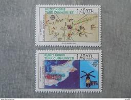 Série 2 Timbres Neuf Chypre (turquie) 2006 : Cinquantenaire Du Timbre Europa - Europa-CEPT