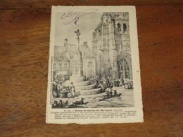 Croix Et église De MOREUIL - Moreuil
