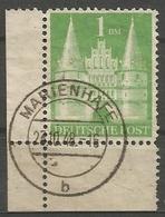 Deutschland - Amerikanisch-Britische Zone - 1948 - 1 Dm VFU Cornerpiece - Bizone
