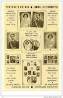 Belgique: Editions Officielles D'Art L.A.B - Portraits Royaux (document Cartonné Rarissime143 X 216) - Other