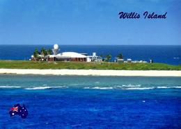 Wilis Island Weather Station Australia New Postcard - Great Barrier Reef
