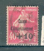 FRANCE ; Caisse D'amortissement ; 1930 ; Y&T N° 266 ; Oblitéré - Oblitérés