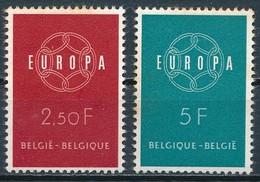 °°° BELGIO - Y&T N°1111/12 - 1959 MNH °°° - Nuovi