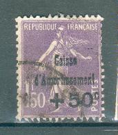 FRANCE ; Caisse D'amortissement ; 1930 ; Y&T N° 268 ; Oblitéré - Oblitérés