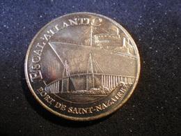 Médaille Monnaie De Paris (Escal'Atlantic Pont De Saint Nazaire) - Monnaie De Paris