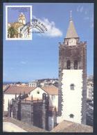 Portugal MADEIRA 1987 Maximum Card: Architecture;  Kirche Church Iglesa; Religion;  Cathedral In Funchal - Architektur