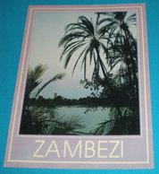 Moonrise Zambezi River ZIMBABWE Cartolina Non Viaggiata - Zimbabwe