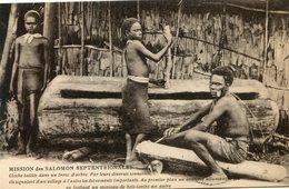 PAPOUASIE_NOUVELLE GUINEE(TYPE) CLOCHE(ARBRE) - Papoea-Nieuw-Guinea
