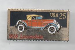 PINS PIN'S TIMBRE USA AUTO 1928 LOCOMOBILE AUTOMOBILE CABRIOLET - Pin's