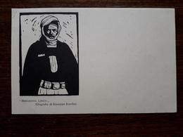 L9/24 Libye Meharista Libico. Xilografia Di Giuseppe Rondini.Ministero Delle Colonie. - Libya