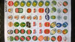 Etichette Bollini Frutta - Fruit Labels - Etiquettes - Aufkleber - BANANE - Fruits & Vegetables