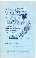 Buvards-Conté-votre Prénom Sur Votre Crayon - Stationeries (flat Articles)