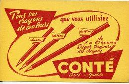 Buvards-Conté- Conté=qualité - Stationeries (flat Articles)