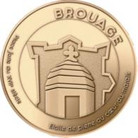 17 HIERS BROUAGE MÉDAILLE TOURISTIQUE SOUVENIR MONNAIE DE PARIS 2019 JETONS TOKENS MEDALS COINS - 2019