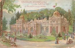 8372.  Torino - Esposizione Internazionale  Di Torino - Il Palazzo Della Moda 1911 FP - NV - Exhibitions