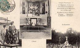 LANGRES (52) Fête Régiment 17 Juillet 1900 - Langres
