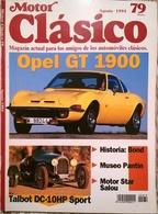 CA012 Autozeitschrift Motor Clásico, Nr. 79, 1994, Spanisch, Neuwertig - [3] 1991-Hoy