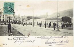 Santa Cruz De Tenerife - El Muelle - 18-1-1907 - Tenerife