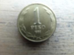 Chili  1  Peso  1988  Km 216.2 - Chile