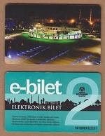 AC - BUS, TRAM DOUBLE RIDE CARD KONYA, TURKEY - Transportation Tickets