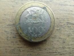 Chili  100 Pesos  2009 Km 236 - Chili
