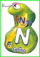 """Magnet Pochoir GERVAIS L'Alphabet Avec Les Animaux """" Le N De Naja  """" Serpent - Letters & Digits"""