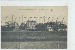 """Conflans-Sainte-Honorine (78) :  Les Villas Au Lieu Dit """"Les Hauteurs"""" à Conflans-Fin-d'Oise En 1910  PF . - Conflans Saint Honorine"""