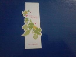 Carte  Jardin  D InterditGivenchy Japon - Cartes Parfumées