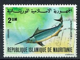 Mauritania, Swordfish (Xiphias Gladius), 1981, VFU Very Scarce Stamp - Mauritanie (1960-...)