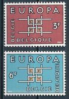 °°° BELGIO - Y&T N°1260/61 - 1963 MNH °°° - Belgio