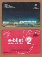 AC - BUS, METRO, TRAM CARD FOR PUBLIC TRANSPORTATION MEVLANA KULTUR MERKEZI KONYA, TURKEY - Transportation Tickets