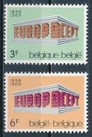 °°° BELGIO - Y&T N°1489/90 - 1969 MNH °°° - Belgio