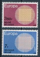°°° BELGIO - Y&T N°1530/31 - 1970 MNH °°° - Belgio