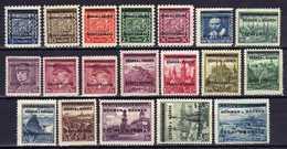 Böhmen Und Mähren 1939 Mi 1-19 ** [070419XXVI] - Occupation 1938-45