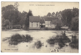 10 Payns La Gendarmerie Ancien Moulin Edit Roblin - France