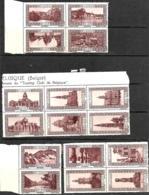 Belgique. Erinophilie : 36 Vignettes Touristiques Touring Club - Erinnophilie