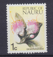 Nauru 1973 Mi. 88    1 C. Blume Flower Ekwenababae MNH** - Nauru