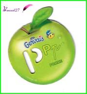 """Magnet Pochoir GERVAIS L'Alphabet Avec Les Fruits Et Les Légumes """" Le P De Pomme """" - Letters & Digits"""