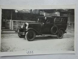 OHM Photographie Lamballe Côtes D'Armor 1929 Camionnette Citroën Chatriot 97 Rue St Lazare Tel. Central 216 - Automobiles